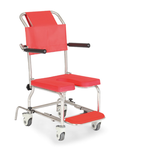 簡易シャワー車いす KSC-1/ST カワムラサイクル 車椅子 軽量 折畳み お風呂用 車椅子 簡易 シャワーチェア