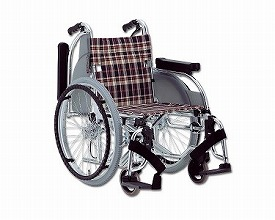 車椅子 軽量 アルミ自走用車いす AR-501  松永製作所(車椅子 車いす 車イス)