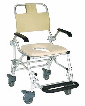 シャワーキャリー LX-2/5022 睦三 介護用品 入浴用シャワーキャリー シャワーチェア シャワーいす 介護 椅子
