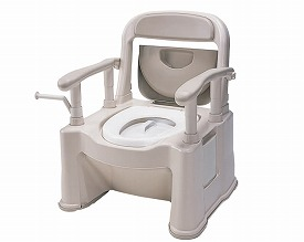 ポータブルトイレ 座楽 背もたれ型SP 標準タイプ VALSPTSPBE パナソニック 介護 介護用品