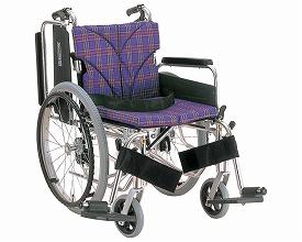 車椅子 軽量 アルミ自走用車いす 簡易モジュール KA820-38・40・42B-M 中床タイプ カワムラサイクル (車椅子 車いす 車イス 折りたたみ)