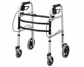 安心ウォーカー T-5700  テツコーポレーション 四輪歩行器(介護用品 歩行器 介護 高齢者 歩行器 シルバー)