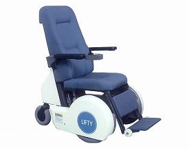送料無料 リフト付電動車椅子 LIFTY(リフティ) KC300【smtb-KD】☆★