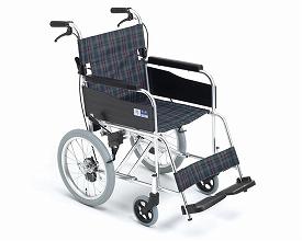 車椅子 軽量 アルミ介助用車いす MPCN-46JD ミキ(車椅子 車いす 車イス)