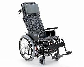 リクライニング 車椅子 自走用ティルティング&リクライニング車椅子 KX22-42N モジュールタイプ  カワムラサイクル (車椅子 車いす 車イス 折りたたみ)