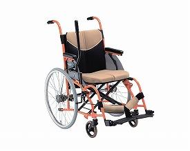 車椅子 軽量 アルミ片手駆動式車いす SCULL type1 OH-1 【松永製作所】【smtb-KD】