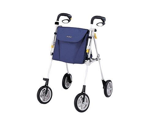 歩行車 ヘルシーワンW-R75/紺  象印ベビー(手押し車 老人 ショッピングカート 4輪 老人 手押し 車 シルバー)(介護用品 歩行器 介護 高齢者 歩行器 シルバー)