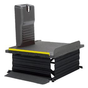 車椅子 昇降機 リーチ レギュラータイプ(電動式)MREAD モルテン 車椅子用昇降機 段差解消 車椅子 階段