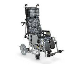 車椅子 車いす 車イス 送料無料 介助用ティルティング&リクライニング車いすクリオネット AYK-40EL   カワムラサイクル (車椅子 車いす 車イス 折りたたみ)