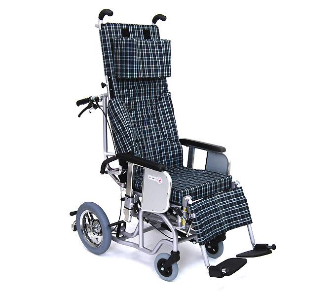 車椅子 車いす 車イス 送料無料 介助用ティルティング&リクライニング車いすクリオネット AYK-40   カワムラサイクル (車椅子 車いす 車イス 折りたたみ)