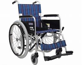 車椅子 軽量 アルミ自走式車いすKA102-40・42  カワムラサイクル (車椅子 車いす 車イス 折りたたみ)
