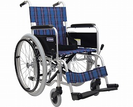 車椅子 軽量 アルミ自走式車いすKA102-40(42)-VS バリューセット カワムラサイクル (車椅子 軽量 折り畳み 自走式 車いす 車イス アルミ製)