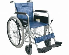 車椅子 送料無料 スチール製自走式車いすKR801N ソリッド カワムラサイクル