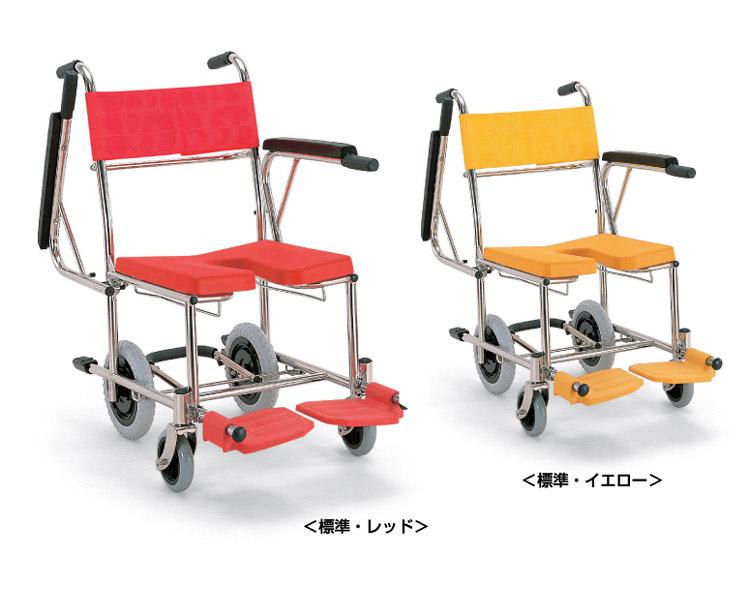 入浴・シャワー用車いす KS4 カワムラサイクル 車椅子 軽量 お風呂用 車椅子 簡易 シャワーチェア
