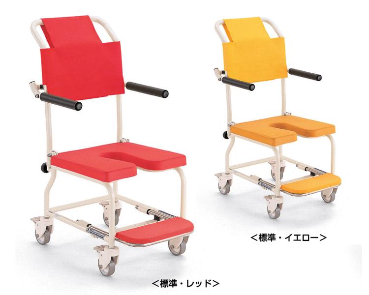 簡易シャワー車いす KSC-1 カワムラサイクル 車椅子 軽量 折畳み お風呂用 車椅子 簡易 シャワーチェア