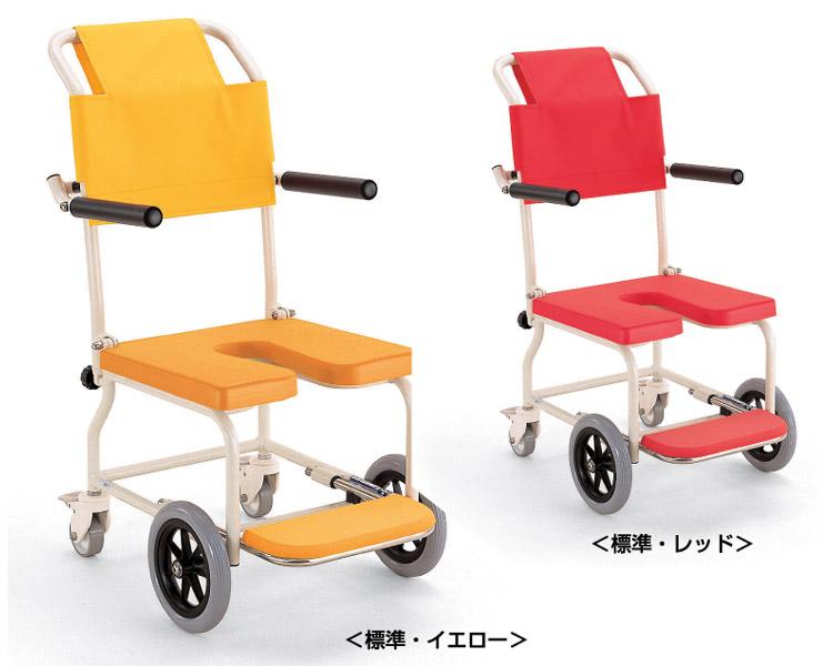 車椅子 入浴・シャワー用車いす KSC-2 カワムラサイクル 車椅子 軽量 お風呂用 車椅子 簡易 シャワーチェア