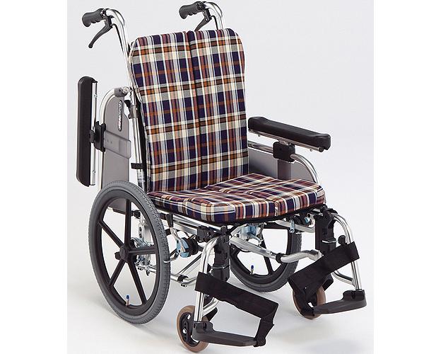 車椅子 軽量 折り畳み 介助用 アルミ製コンパクトセミモジュール車いす AR-911S 松永製作所(車椅子 車いす 車イス)