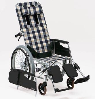 リクライニング 車椅子 自走式リクライニング車椅子MW-13 【松永製作所】【smtb-KD】【受注生産品】
