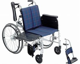 車椅子 ラクーネ2 LK-2N ミキ(車椅子 車いす 車イス)