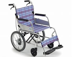 車椅子 車いす 車イス 送料無料 介助用超軽量車いす ニューライト / MC-43SKSP  ミキ(車椅子 車いす 車イス)