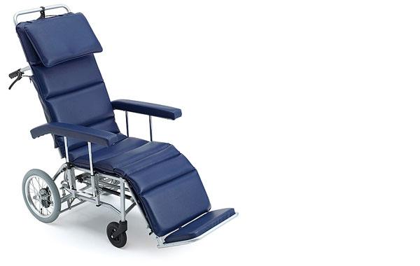 リクライニング 車椅子 リクライニング車椅子 MFF-50 (介助式)  ミキ(車椅子 車いす 車イス)