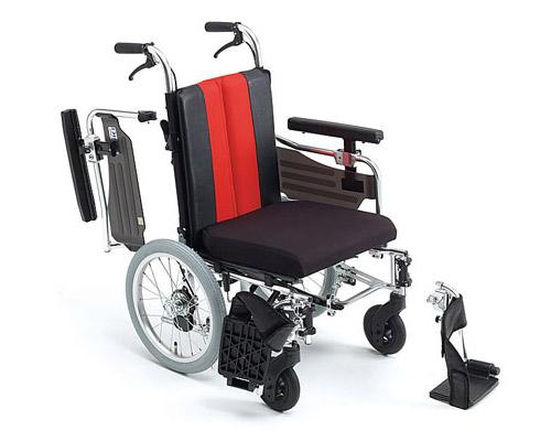 車椅子 軽量 アルミ介助式車椅子 MM-Fit Lo 16 (低床型)  ミキ(車椅子 車いす 車イス)