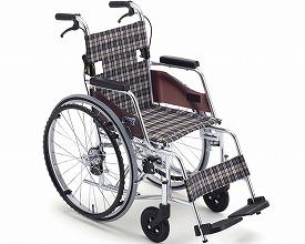 車椅子 軽量 アルミ自走車いす MOC-43L SP   ミキ(車椅子 車いす 車イス)