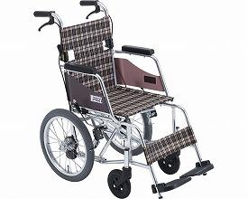 車椅子 車いす 車イス 送料無料 介助用コンパクト車いす モック / MOCC-43SP  ミキ(車椅子 車いす 車イス)