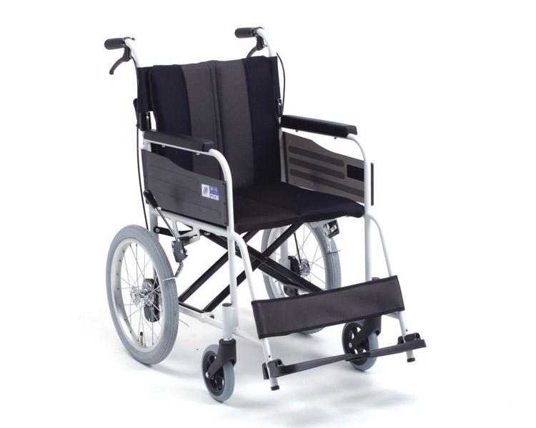 車椅子 軽量 アルミ介助式車椅子 MPCN-46JD HG  ミキ(車椅子 車いす 車イス)