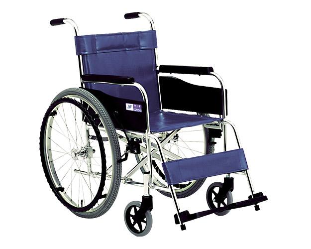 車椅子 軽量 アルミ自走式車椅子 MPN-40 ミキ(車椅子 車いす 車イス)