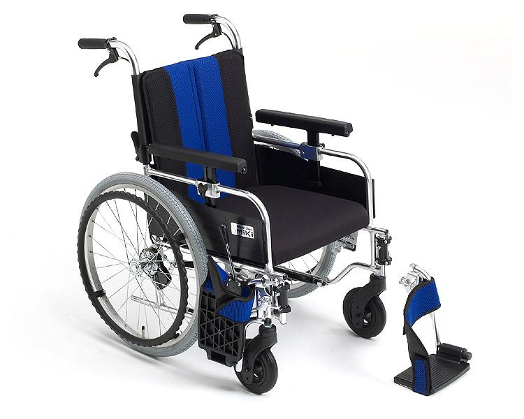 車椅子 軽量 アルミ自走式車椅子(超低座面車いす)  MYU-ZERO  ミキ(車椅子 車いす 車イス)