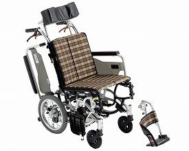 車椅子 車いす 車イス 送料無料 介助用6輪車いす スキット7 / SKT-7  ミキ(車椅子 車いす 車イス)