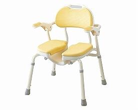 介護用 風呂椅子 ひじ掛け付きシャワーイスHP 535-019 安寿 介護 椅子 シャワーチェアー 風呂イス 介護用品 風呂椅子