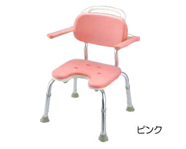 やわらかシャワーチェア U型 肘掛け付コンパクト 【リッチェル☆☆】