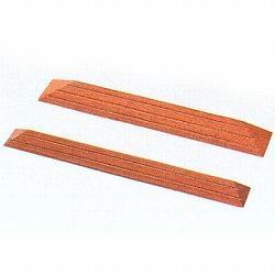 木製スロープ 間口80×奥行11.5×高さ2.5cm / CDU-0125【矢崎化工】