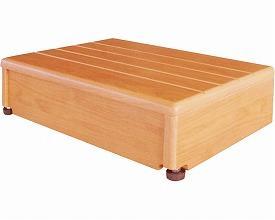 玄関台(木製)45W-30 (640-010)シコク 介護用品 福祉用具 玄関台 歩行支援 上がりかまち ステップ台 立ち上がり補助 smtb-KD RCP