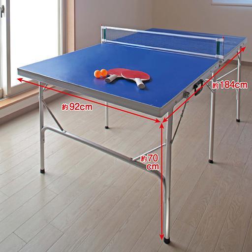 ファミリー卓球台 715058 パール金属 卓球台 家庭用