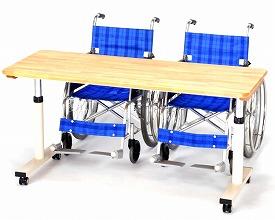折りたたみ式昇降リハビリテーブル RZ-1260N 幅120cm【日本ディー・エル・エム】【smtb-KD】