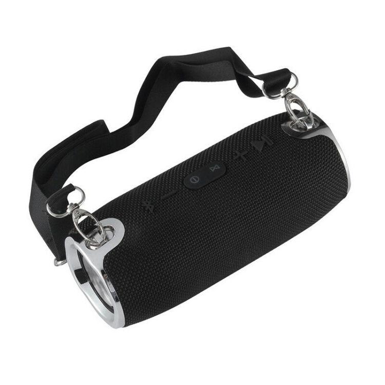 腰鼓ワイヤレススピーカー Bluetooth4.1 最大出力20W×2 ステレオ 充電式 ポータブルサイズ 通常便なら送料無料 ☆送料無料☆ 当日発送可能 USBメモリー LP-BTSMG16 スピーカーフォン機能 microSD再生可 携行に便利なストラップ付