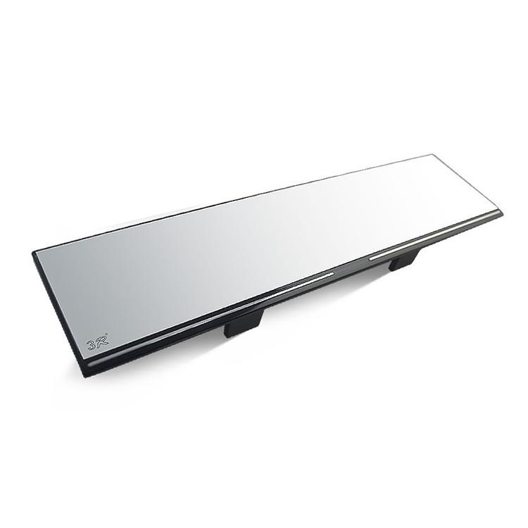 注目ブランド 後方状況しっかり確認 大型ルームミラー ワイドミラー 平面鏡 幅30cm 挟むだけで簡単取り付け 視野拡大 送料無料 取付簡単 防眩バックミラー LP-YK3R282 眩しさをカット 流行 事故防止