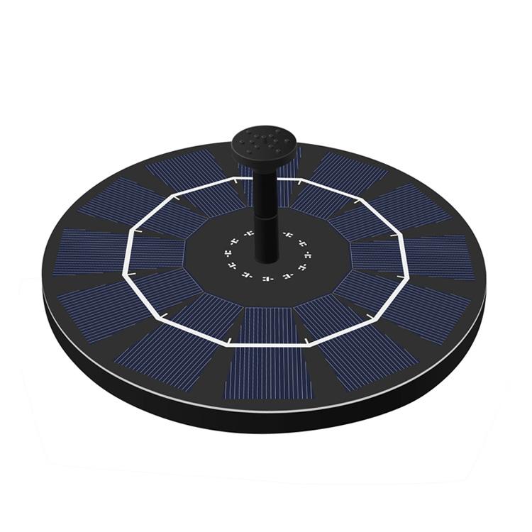 充電式ソーラー噴水ポンプ 送料無料 激安 お買い得 キ゛フト 太陽光充電 屋外 光センサー フロート 循環 新着 酸素供給 ウォーターポンプ LP-BSVSP25 送料無料