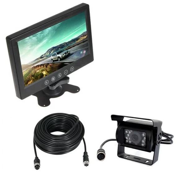 バックカメラセット 高画質WVGA画面 広角120度レンズ 赤外線暗視機能 20mケーブル付 LED18灯 高解像度9インチモニター LP-OMT90SETPRO キャッシュレス 還元