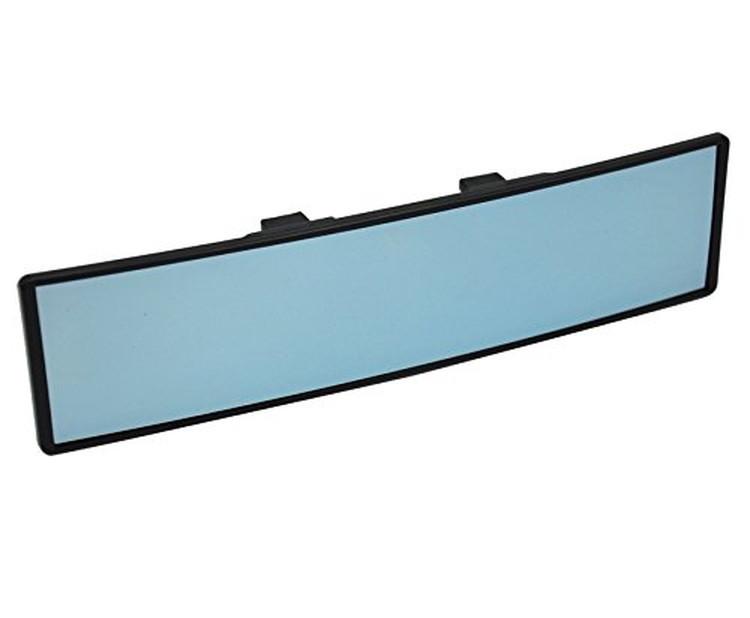 ミラーを挟むだけの簡単取付 人気急上昇 後付型大型バックミラー 大型鏡面 曲面構造 LP-WRM288 送料無料 モデル着用&注目アイテム 後方左右まで確認できる