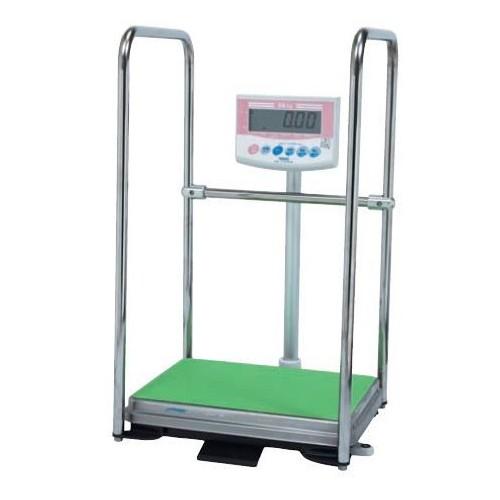大和製衡 デジタル体重計 手すり付 検定品 DP-7101PW-T