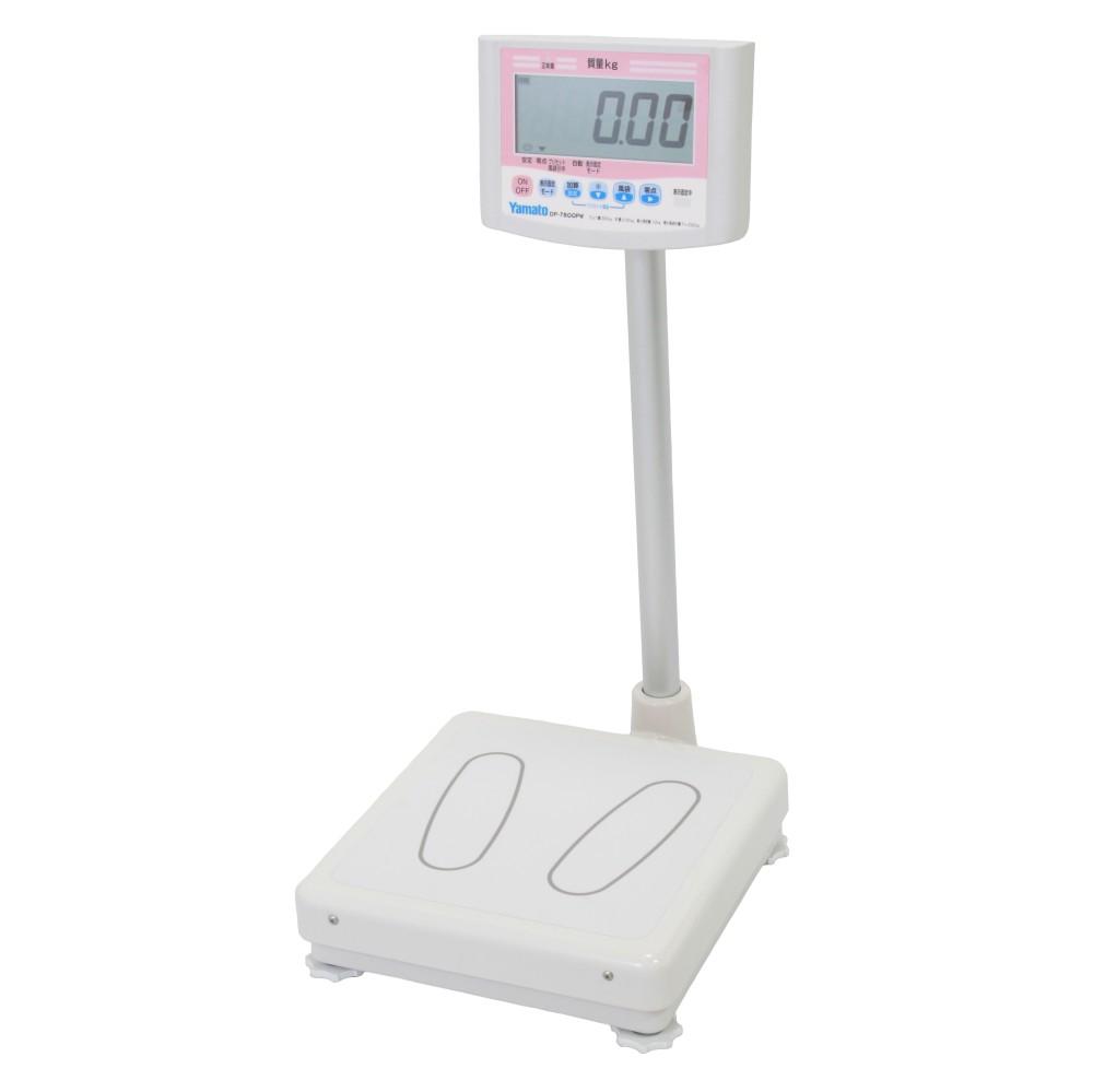 大和製衡 デジタル体重計 一体型 検定品 DP-7800PW-120
