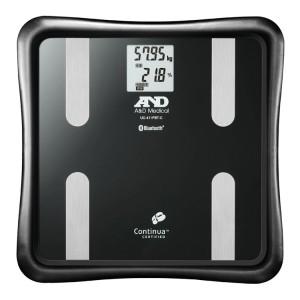A&D Bluetooth内蔵 体組成計 (黒) UC-411PBT-C