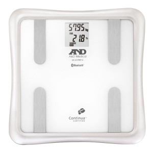 A&D Bluetooth内蔵 体組成計 (白) UC-411PBT-C