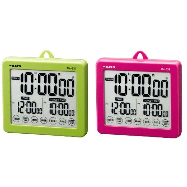 SATO SATO weighing instrument target timer TM-33T (P) pink 1802-00