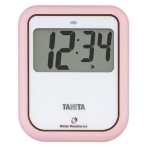 触らないで使えるタイマー 人気 おすすめ タニタ 日本全国 送料無料 非接触タイマー ピンク 洗えるタイプ TD-422