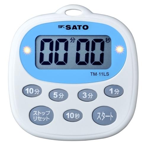 楽天市場 sato 佐藤計量器 キッチンタイマー tm 11ls 1700 32 生活計量